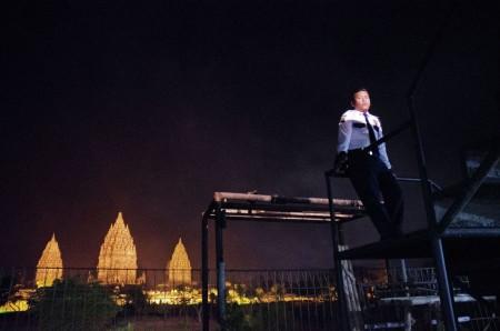 Guarding Prambanan