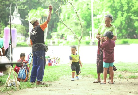 Play with Grandsons
