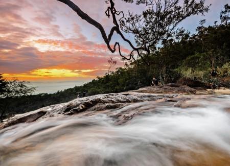 Langsir Waterfall