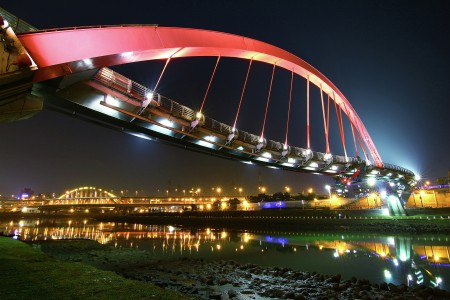 rainbow bridge taipei