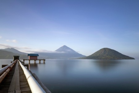 Maitara and Tidore Island