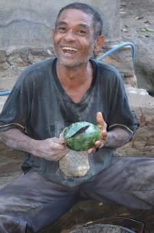 Senyum seorang Petani