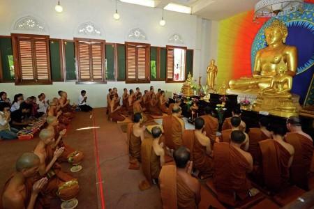 Upacara pentahbisan bhikkhu