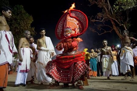 cultural rich theyyam
