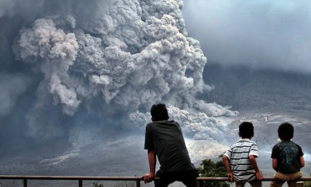 Watching Eruption