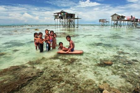Semporna Bajau Village