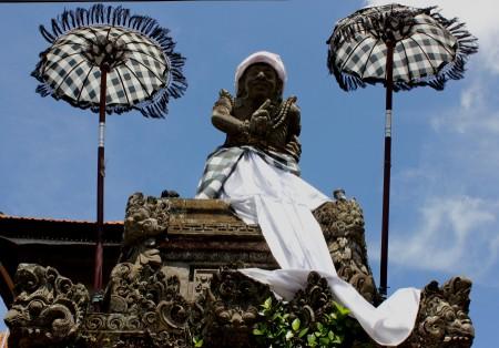 Statue at Ubud