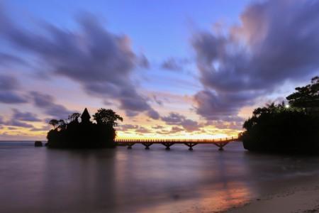 Balekambang after sunset