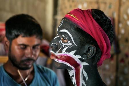 Celebrating Charak Puja