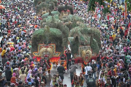 Pawai Reog - Parade Budaya Surabaya