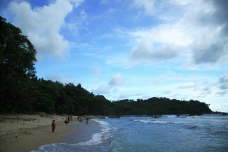 damainya pantai wediombo