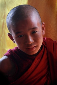 THE CHILD MONK