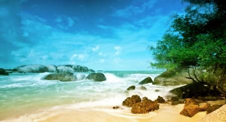 pesona pantai belitung