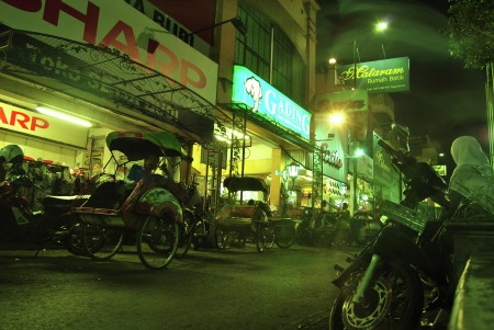 Waiting for passengers on Malioboro