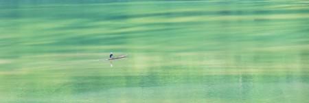Sailing in the Ba Be Lake