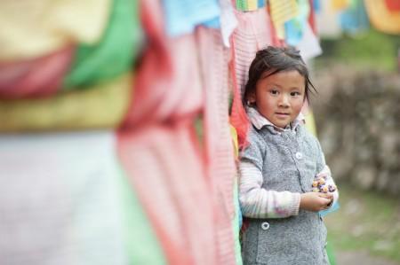 A Tibet Girl