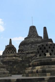 The Borobudur Stupas