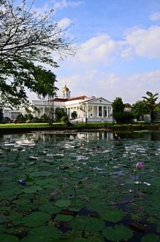side of bogor palace
