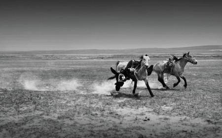 Mongolian Horse riding