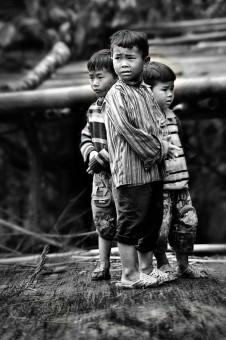 3 anak vietnam