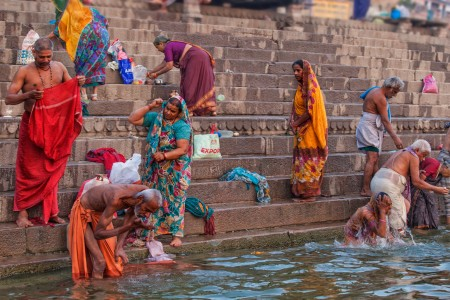 Faith in Motion by the River of Ganges