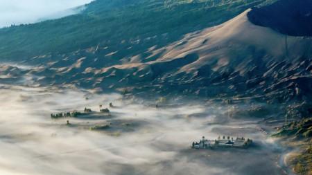 Misty Temple