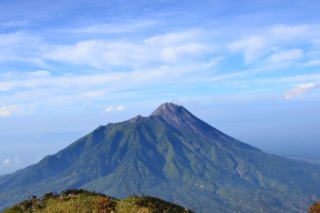 The Beauty of Mount Merapi