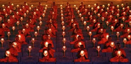 the budda lantern festival