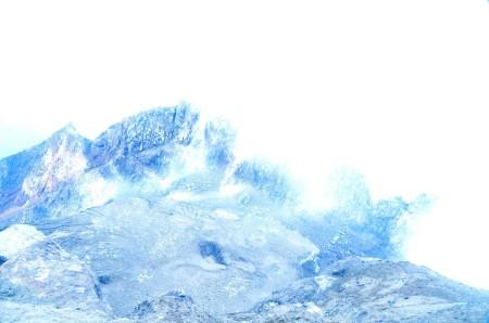 Smokey Merapi Crater