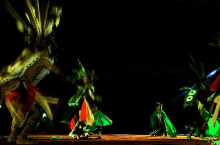 the dayak dance 2