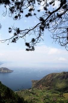 Lake Toba from Simalem