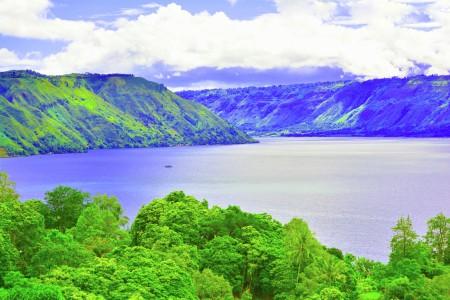 The amazing of Toba Lake