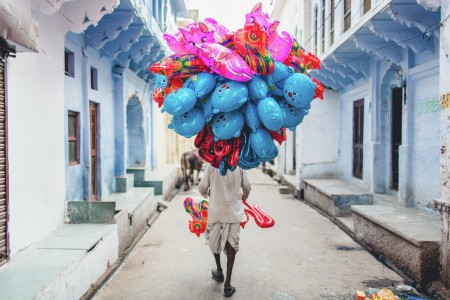 The Balloon Seller.
