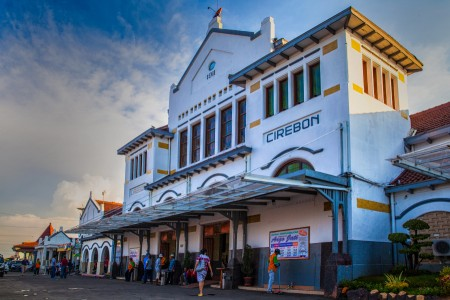 Train Station at Cirebon