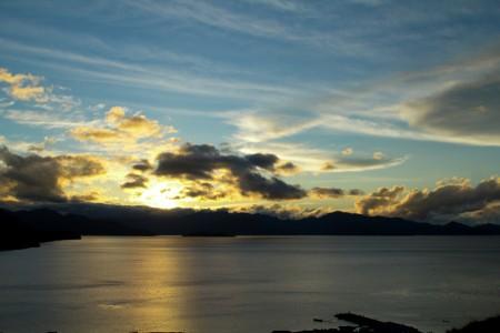 Sunset at Lake Paniai
