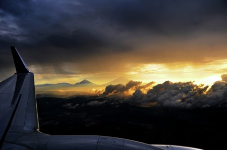 Mt. Merapi in The Morning