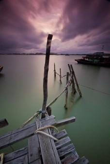Dusk In Seberang Takir