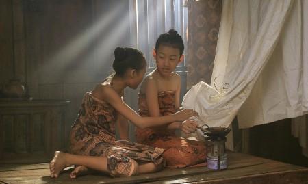 Belajar membuat Batik