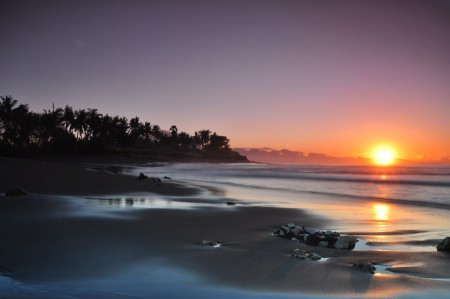 Sunrise at Masceti Beach Bali
