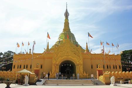 Lumbini's Pagoda