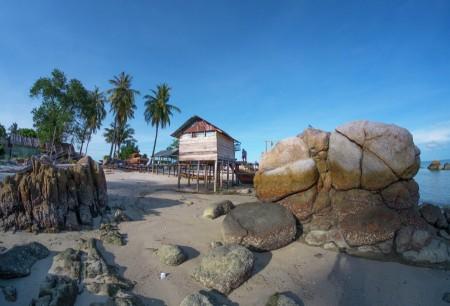 Rumah Nelayan Kampung Riau